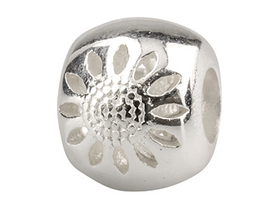 Sterling-Silver-Sunflower-Charm----Bead