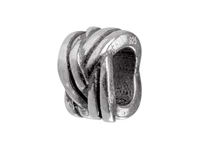 Sterling-Silver-Double-Knot-Charm--Bead