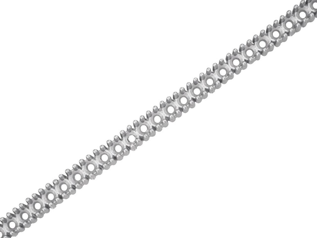 Sterling Silver Setting Strip      Ss0009