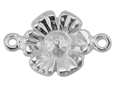Sterling Silver Daisy Space
