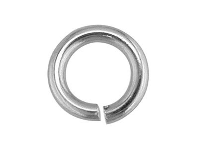 Platinum Jump Ring Heavy 3mm