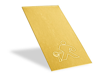22ct Yellow Gold Solder Panels - Easy Assay Quality .800