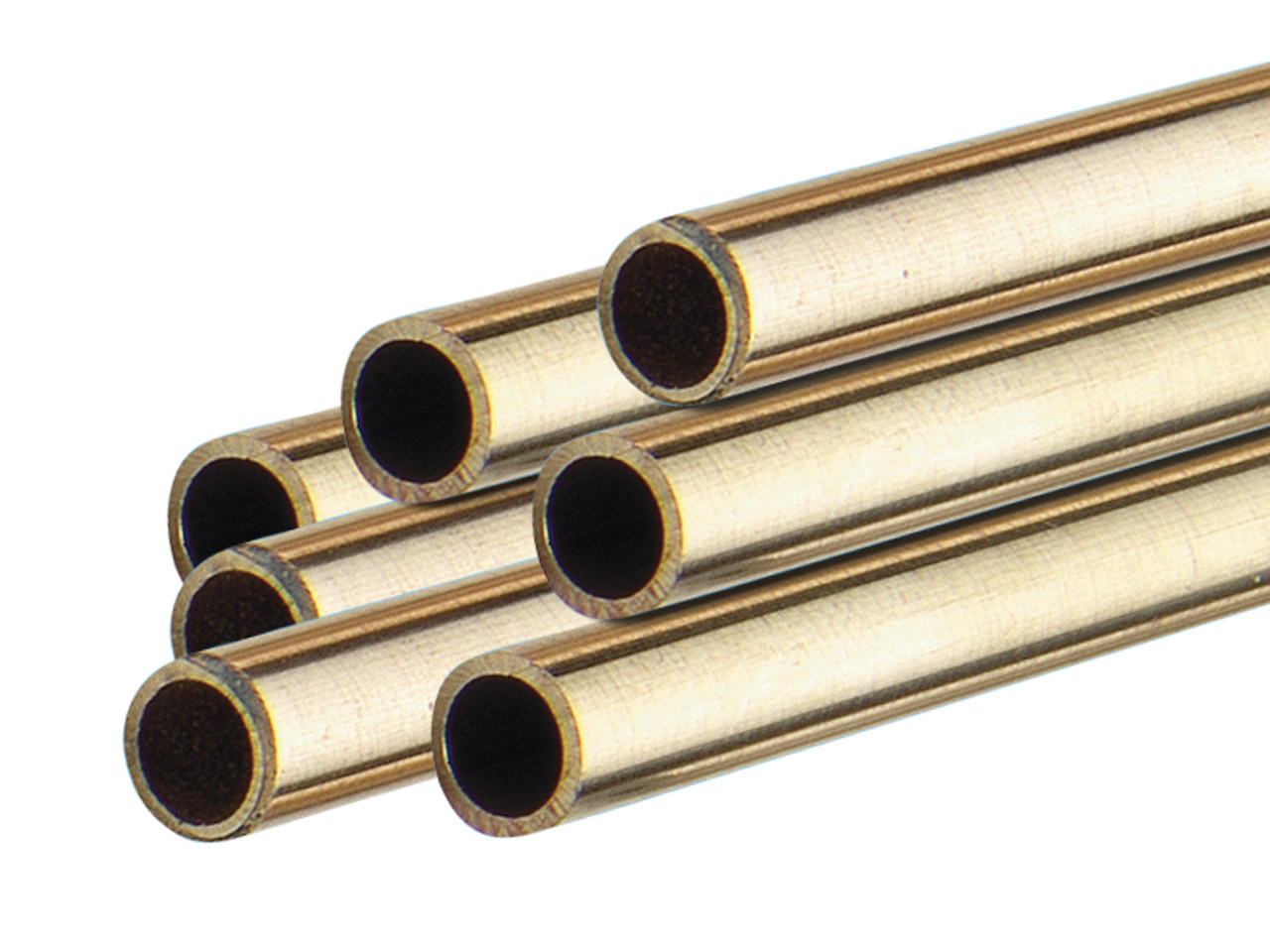 18ct Yellow HB Tube, Ref 8,        Outside Diameter 2.4mm,            Inside Diameter 1.6mm, 0.4mm Wall  Thickness