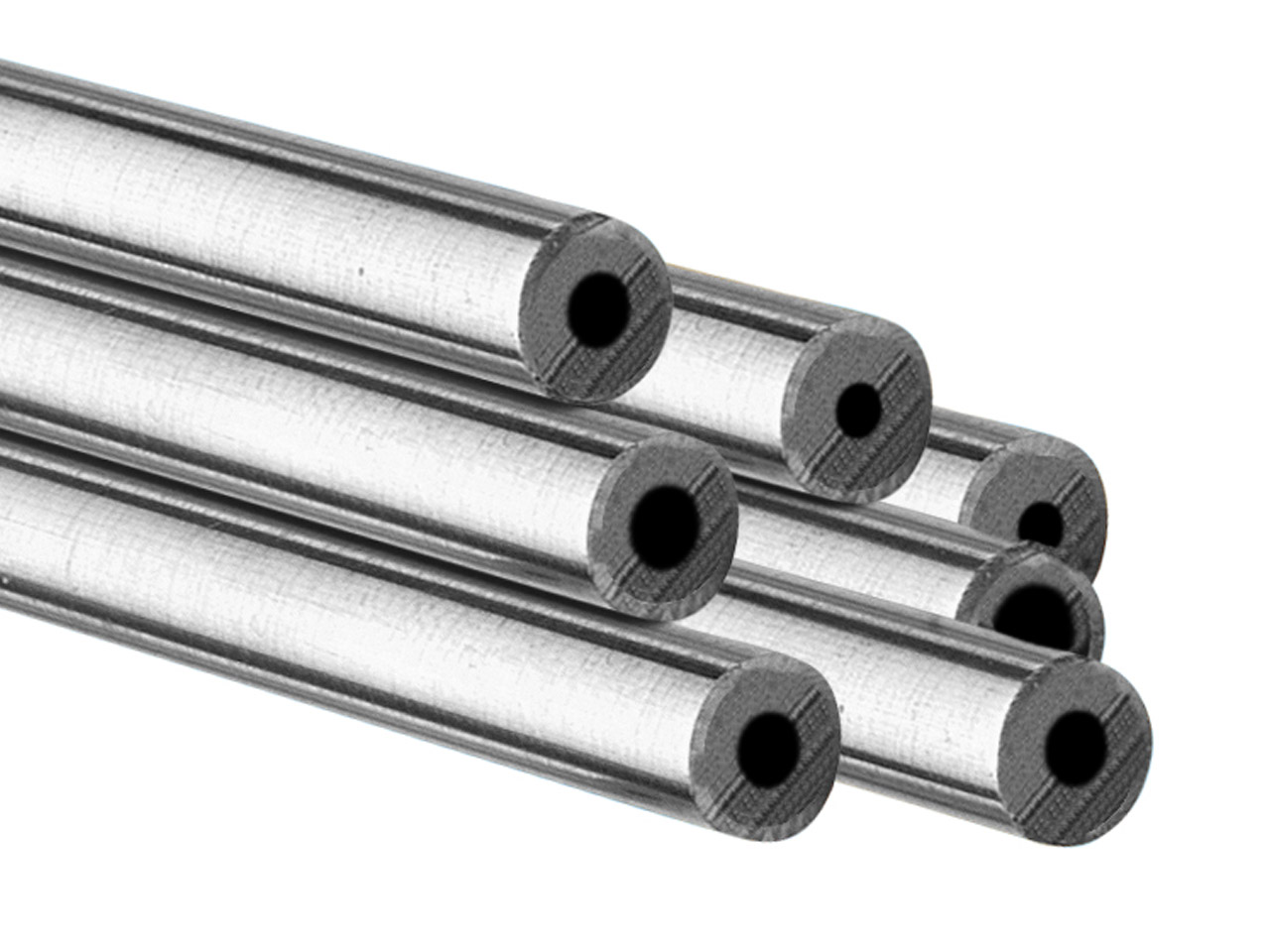 Sterling Silver Jt Tube,            Outside Diameter 6.35mm,            Inside Diameter 3.05mm, 1.65mm Wall Thickness