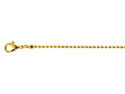 Gold-Plated-Ball-1.5mm-18--45cm