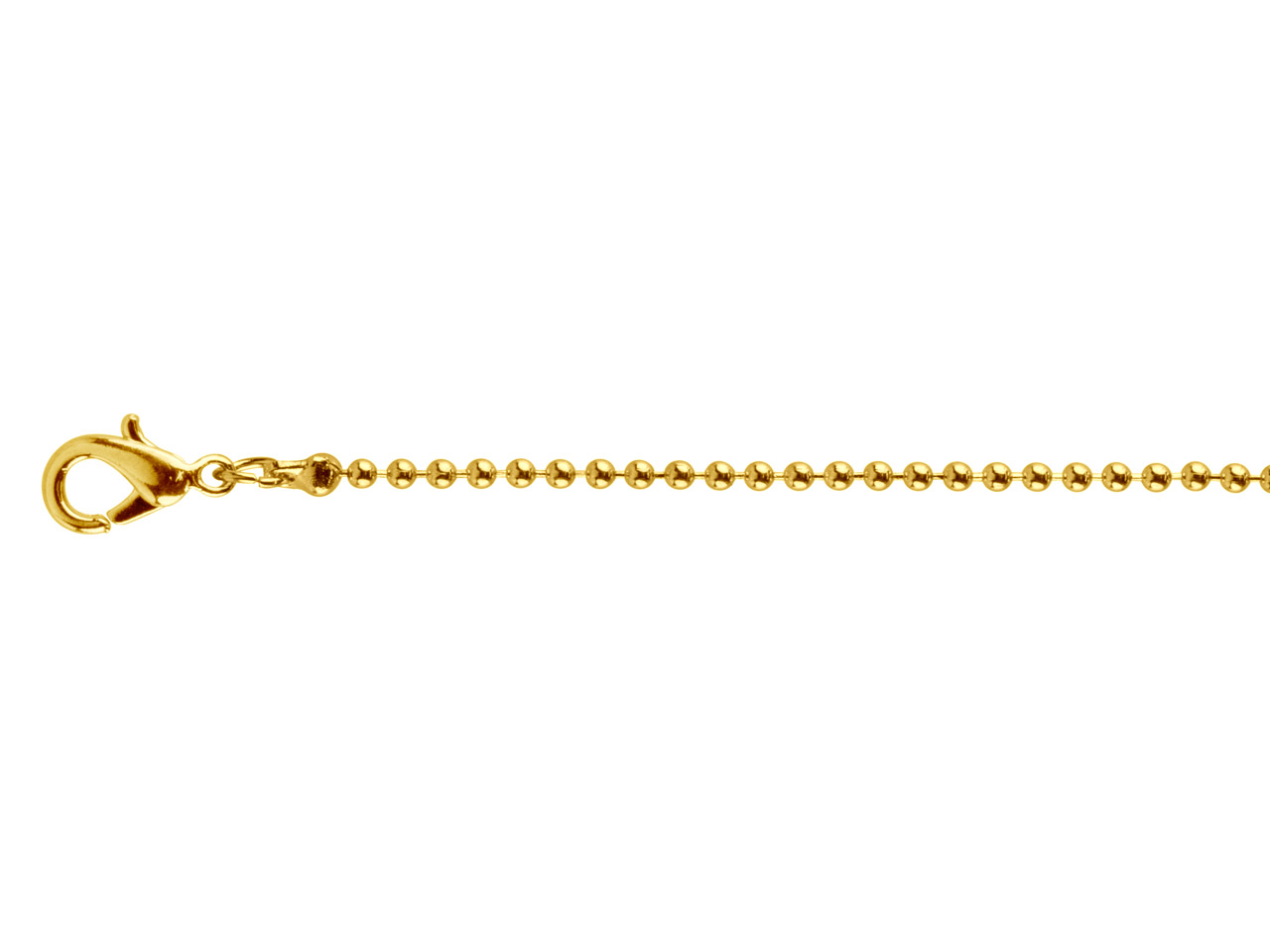 Gold Plated Ball 1.5mm 18