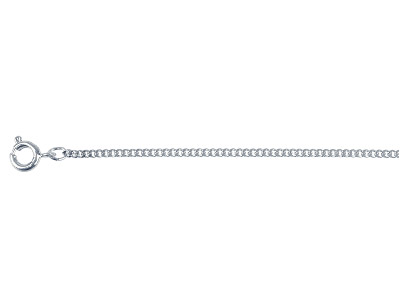 Stainless Steel 1.6mm Curb Chain, 18""