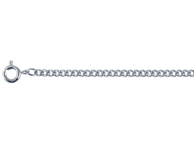 Stainless Steel 3mm Curb Chain 2460cm