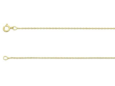 9ct Yellow 10 Rope 1845cm        Unhallmarked