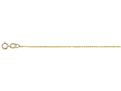 9ct-Yellow-25-Flat-Trace-16--40cm--Un...