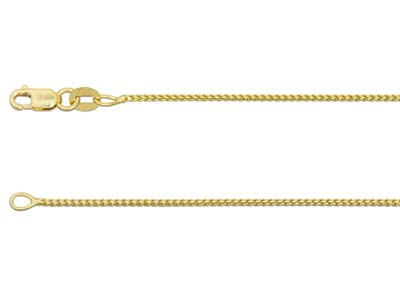 18ct Yellow Gold 1.4mm Franco Chain 1640cm Hallmarked