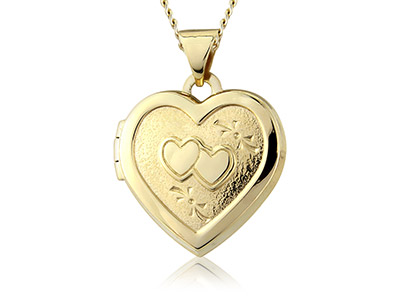 9ct-Yellow-Double-Heart-Locket-With-1...