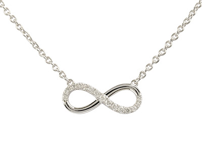 9ct-White-Infinity-Necklet,--------0....