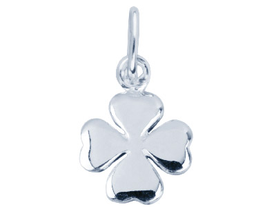 Sterling-Silver-Pendant-Four-Leaf--Cl...