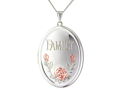 Sterling-Silver-Locket-Family-Holds-U...