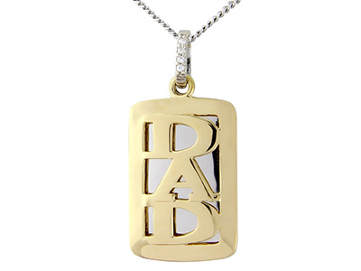 Sterling-Silver-Pendant-Yellow-----Rh...