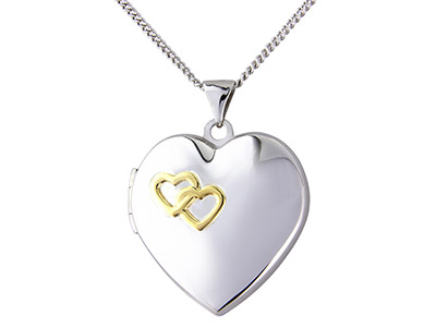 Sterling-Silver-Locket-Heart-Yellow-R...