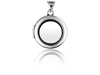 Sterling-Silver-Locket-18mm-Window-Ro...