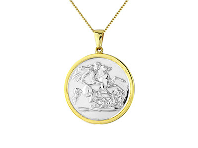 Sterling-Silver-Gold-Plated-St.----Ge...