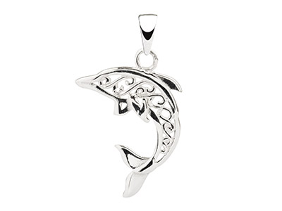 Sterling-Silver-Filigree-Dolphin---Pe...