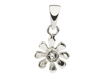 Sterling-Silver-Flower-Pendant-Set-Wi...