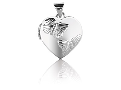 Sterling-Silver-Heart-Locket-With--Bu...