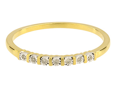 9ct-Yellow-Half-Eternity-Diamond---Ri...