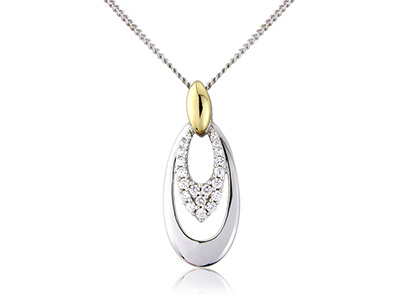 Sterling-Silver-9ct-Yellow-Drop----Cu...