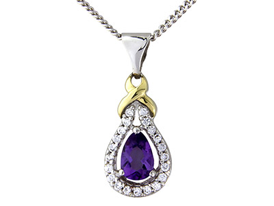 Sterling-Silver-9ct-Yellow-Amethyst-C...