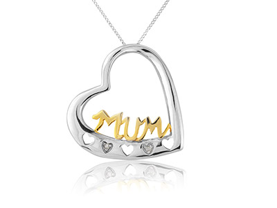 9ct-White-9ct-Yellow-Mum-Diamond---Se...