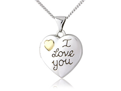 Sterling-Silver-9ct-Yellow-I-Love--Yo...