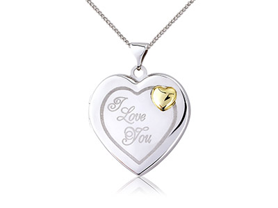 Sterling-Silver-9ct-Yellow-Heart----L...