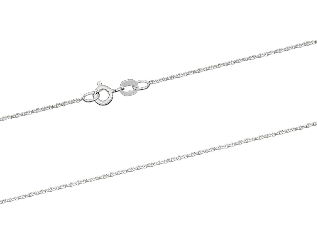 Sterling Silver Cable Chain 16