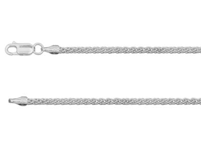 Sterling Silver 2.5mm Spiga Chain  2255cm Hallmarked