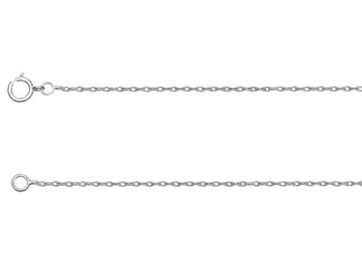 Sterling Silver 20 Rope 1845cm Unhallmarked