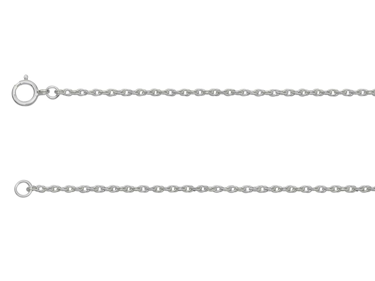 Sterling Silver 11 Rope 18