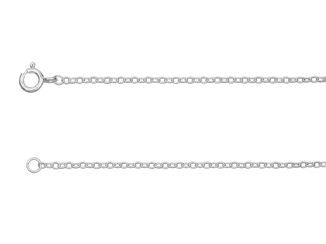 Sterling Silver 1.9mm Trace Chain  20