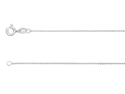 Sterling Silver 1.0mm Ball Chain   1845cm Unhallmarked