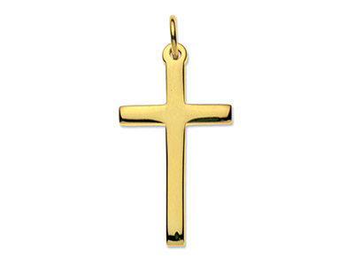 9ct-Yellow-Cross,-Small-Heavy-Latin-H...