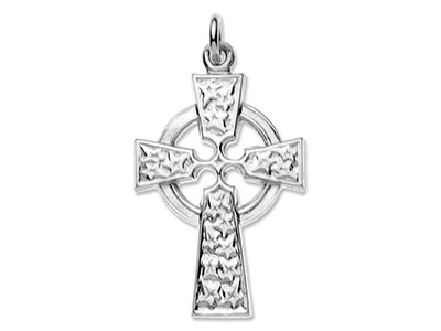 Sterling Silver Celtic Cross No.17