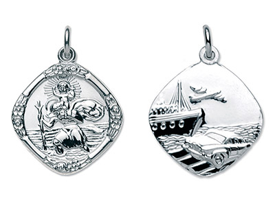 Sterling-Silver-St.-Christopher,---Me...