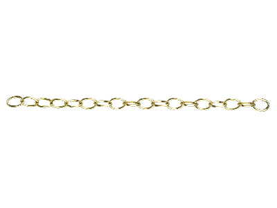 12ct Gold Filled 4.5mm Loose Oval  Belcher Chain