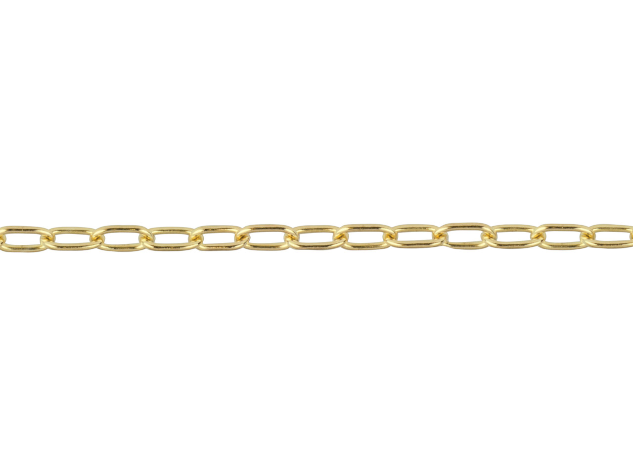 14ct Gold Filled Medium Cable,     1.7x2.8mm, Loose