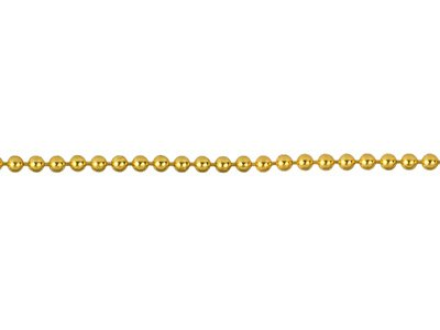 12ct Gold Filled 1.2mm Loose Ball  Chain