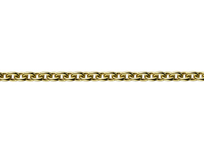 9ct Yellow Gold 1.9mm Loose Cable  Chain