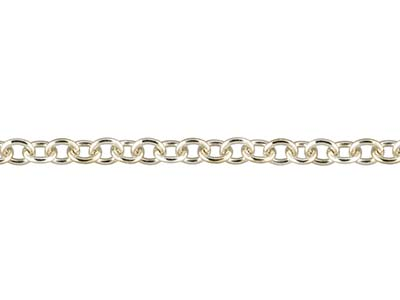 9ct White Gold 1.9mm Loose Trace   Chain
