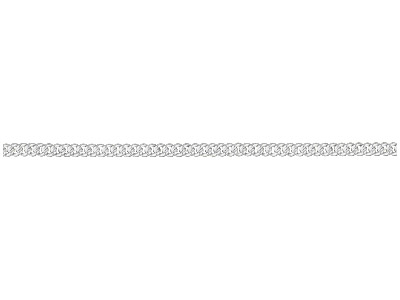 Sterling Silver Curb Loose 2.9mm X 1.7mm Close Link