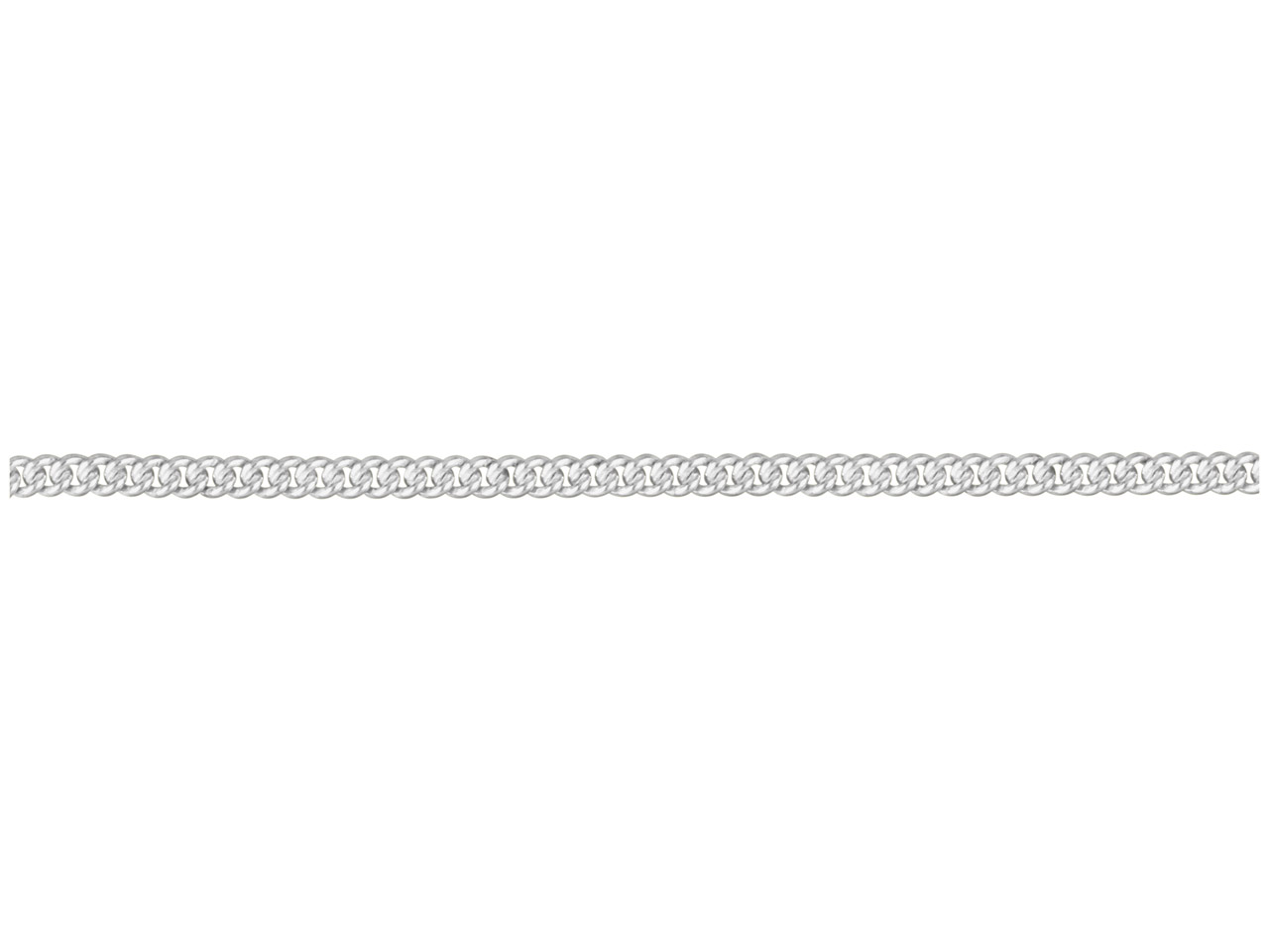 Sterling Silver Curb, Loose 2.9mm X 1.7mm, Close Link