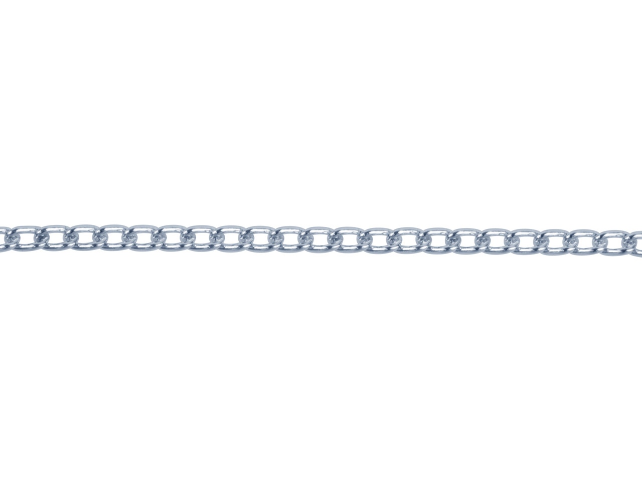 Sterling Silver 1.6mm Loose Curb   Chain