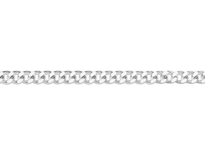 Sterling Silver 5.5mm Loose Flat   Curb Chain